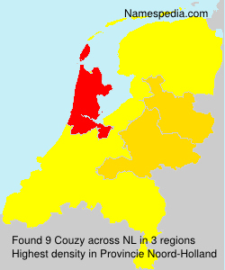 Surname Couzy in Netherlands