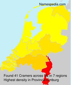 Familiennamen Cramers - Netherlands