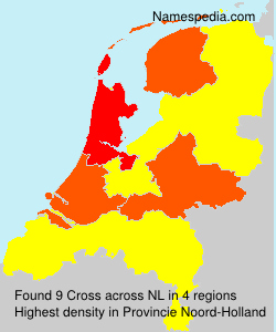 Surname Cross in Netherlands