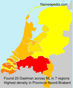 Surname Daelman in Netherlands