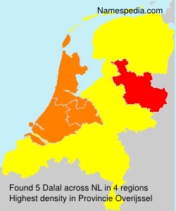 Surname Dalal in Netherlands