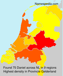 Surname Daniel in Netherlands