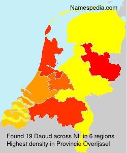 Surname Daoud in Netherlands