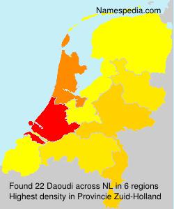 Familiennamen Daoudi - Netherlands