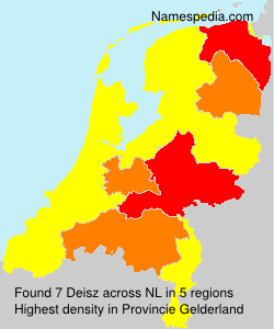 Surname Deisz in Netherlands
