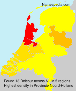 Surname Delcour in Netherlands
