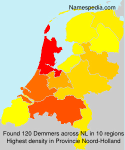 Surname Demmers in Netherlands