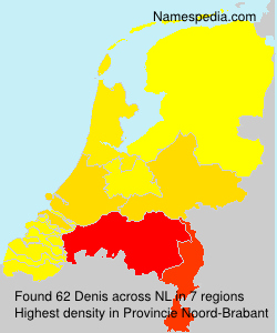Surname Denis in Netherlands