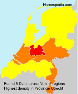 Surname Diab in Netherlands