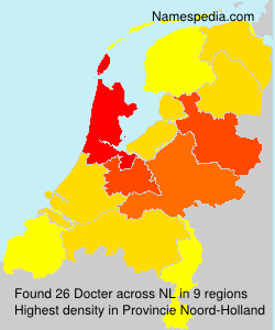 Surname Docter in Netherlands