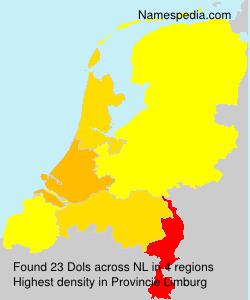 Surname Dols in Netherlands