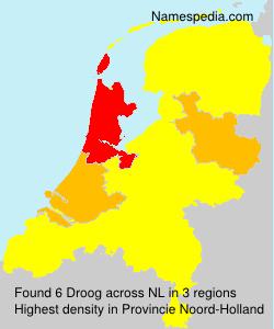 Familiennamen Droog - Netherlands