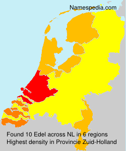 Surname Edel in Netherlands