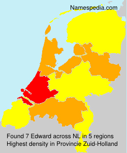 Surname Edward in Netherlands