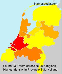 Surname Erdem in Netherlands