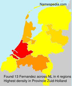 Familiennamen Fernandez - Netherlands
