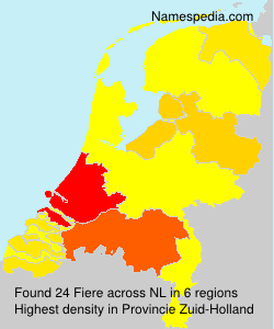 Surname Fiere in Netherlands