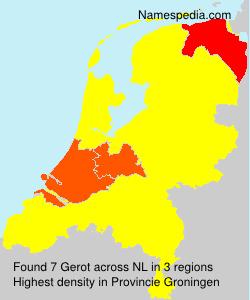Surname Gerot in Netherlands