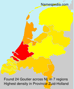 Surname Goutier in Netherlands