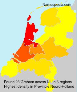 Surname Graham in Netherlands
