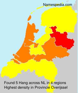 Surname Hang in Netherlands