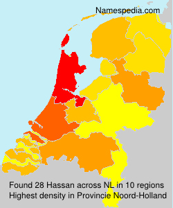 Surname Hassan in Netherlands