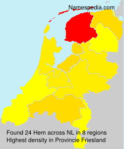 Surname Hem in Netherlands