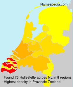 Familiennamen Hollestelle - Netherlands
