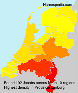 Surname Jacobs in Netherlands