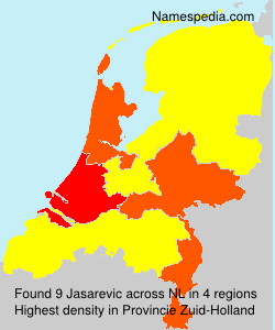 Surname Jasarevic in Netherlands