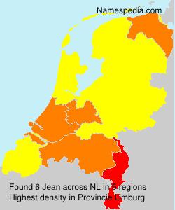 Surname Jean in Netherlands