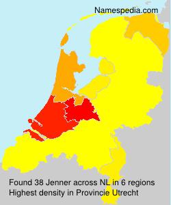 Familiennamen Jenner - Netherlands