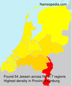 Surname Jessen in Netherlands