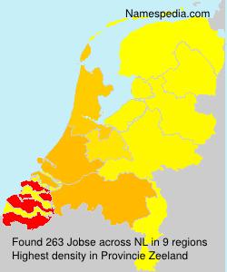 Familiennamen Jobse - Netherlands