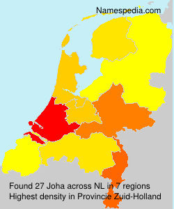 Surname Joha in Netherlands