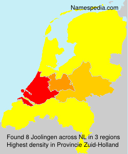 Surname Joolingen in Netherlands