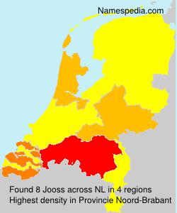 Surname Jooss in Netherlands