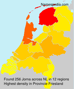 Surname Jorna in Netherlands
