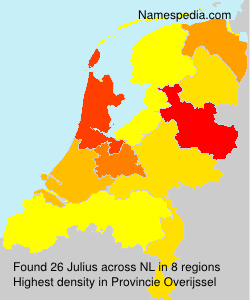 Surname Julius in Netherlands