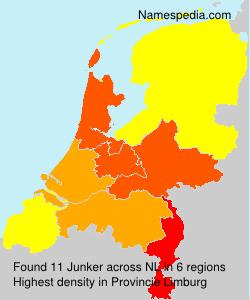 Surname Junker in Netherlands