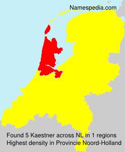 Surname Kaestner in Netherlands