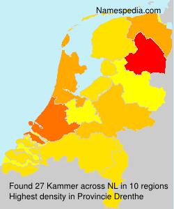 Familiennamen Kammer - Netherlands