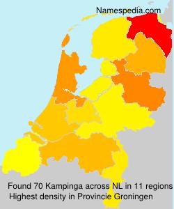 Surname Kampinga in Netherlands