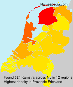 Surname Kamstra in Netherlands