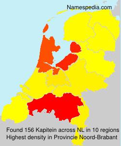 Surname Kapitein in Netherlands