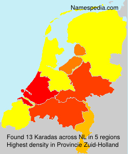Surname Karadas in Netherlands