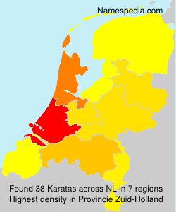 Surname Karatas in Netherlands