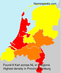 Surname Karl in Netherlands