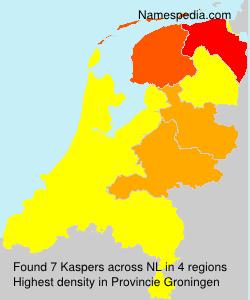 Surname Kaspers in Netherlands