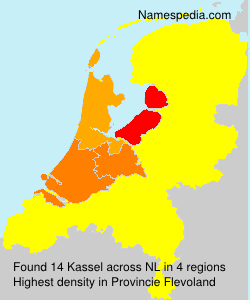 Surname Kassel in Netherlands